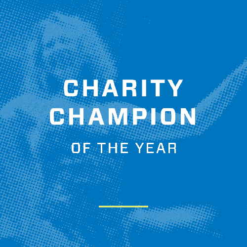 Ultra Events charity champion of the year award