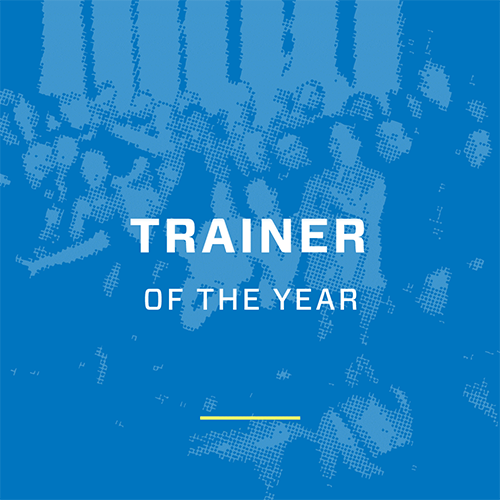 Ultra Events trainer of the year award